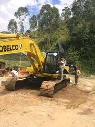 Vencambio Retro Excavadora Kobelco