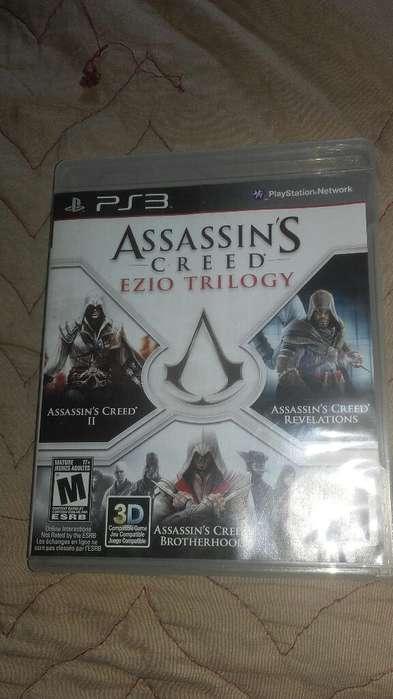 Assasins Creed Ezio Trilogy Ps3