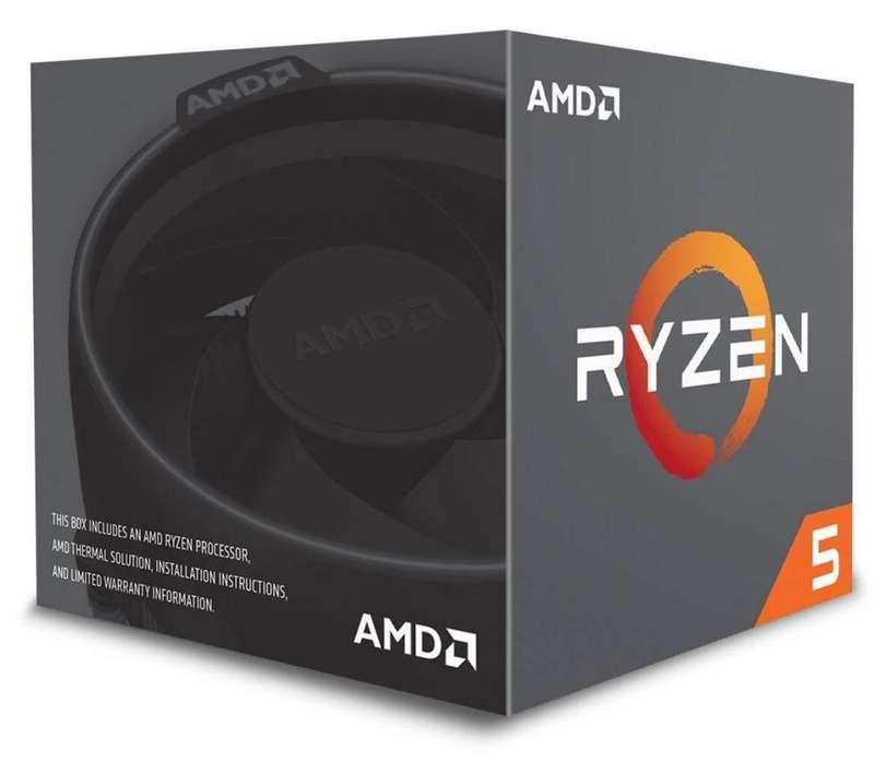 Ryzen 5 2600X Procesador AMD 6 nucleos EN STOCK 1 UNIDAD!