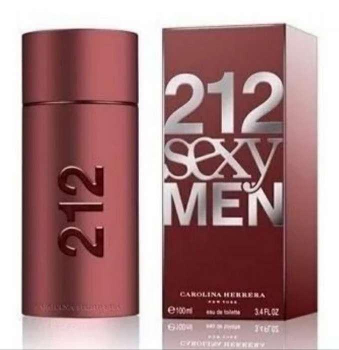 Perfume 212 Sexy Men Original
