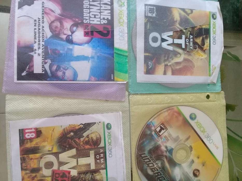 4 Juegos de Xbox 360