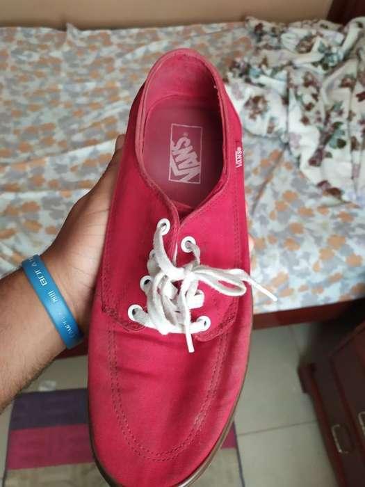 Zapatos Vans Casi Nuevos Talla 41.5