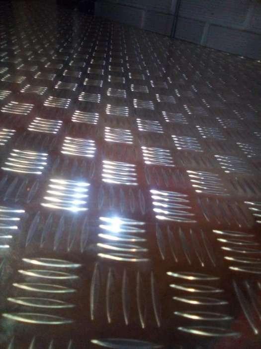 Laminas en aluminio lisas y alfajor , rollo de aluminio