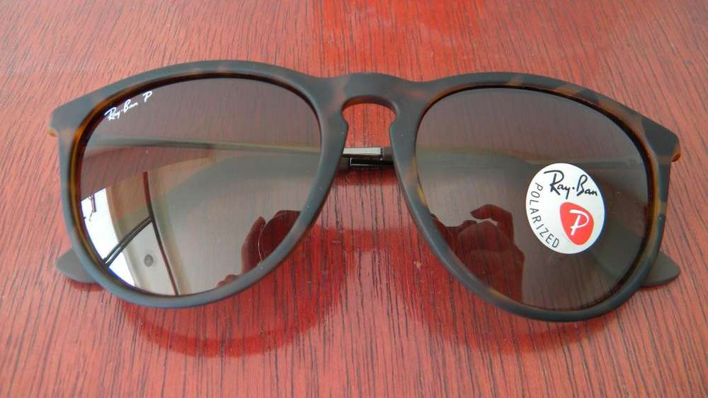21b5a60474 Gafas Ray Ban 4171 Erika Gunmetal Porlarizadas Marco Color Tortoise Carey  <strong>lente<