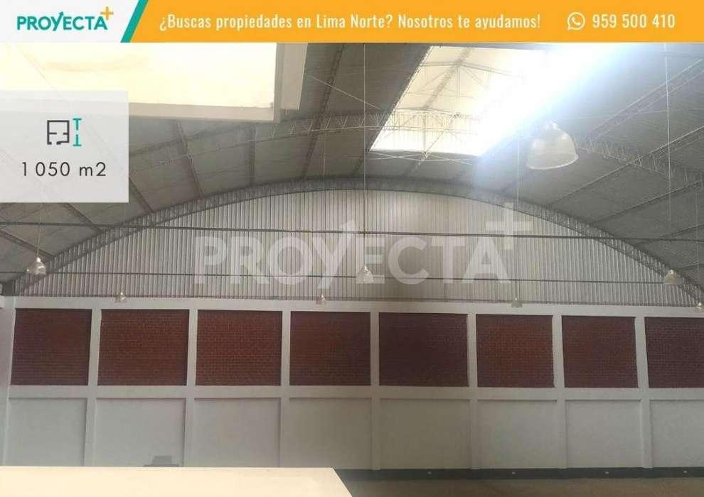 VENTA DE LOCAL INDUSTRIAL DE ESTRENO DE 1050 M2 A 1 CDRA PANAMERICANA NORTE - PTE PIEDRA