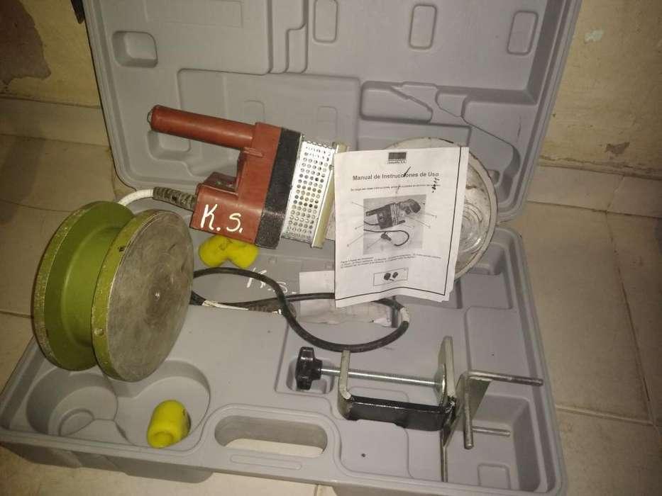 Termofusora Saladillo1600 W y Dado de 3p