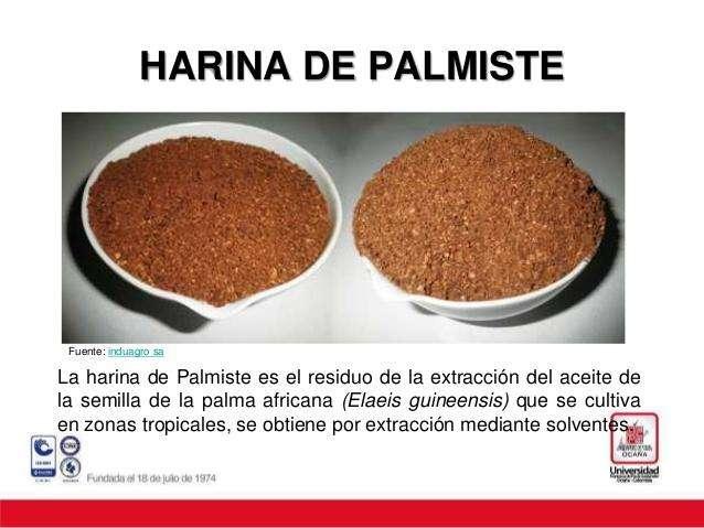 VENTA DE HARINA PALMISTE