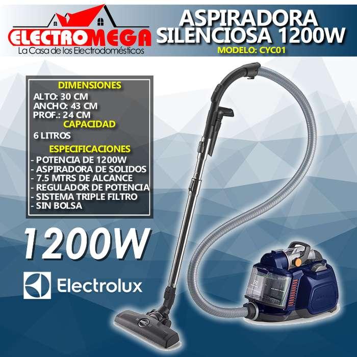 <strong>aspiradora</strong> De Polvo Electrolux 1200w Sistema Ciclónico Cyc01