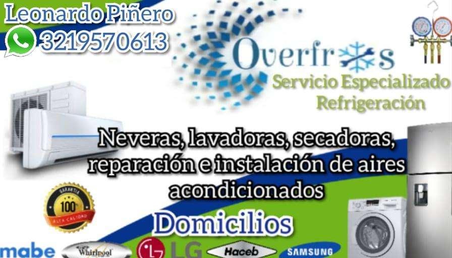 Servicio Tecnico en Refrigeracion 3219570613