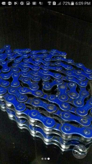Cadenilla para Bicicleta Color Azul.