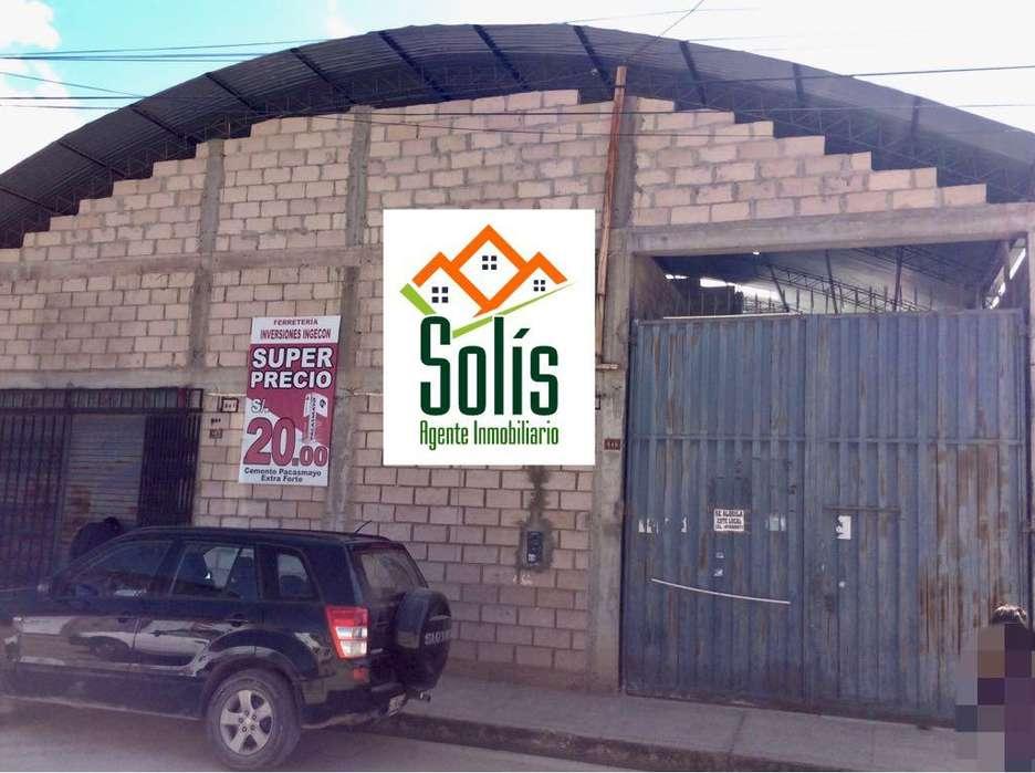 SOLÍS ALQUILA LOCAL COMERCIAL PARA TALLER MECANICO, ALMACÉN, LOCAL DE OCIO.
