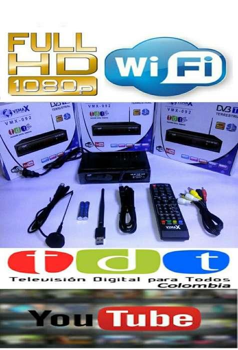 Decodificador Tdt Wifi Hd 4k