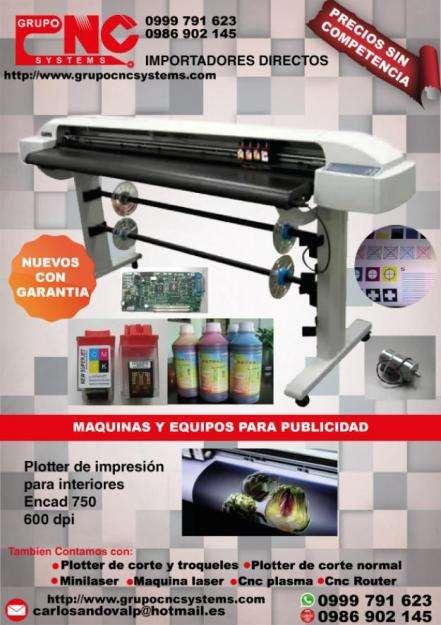 Plotter de impresión Encad 750 PUEDE IMPRIMIR PATRONAJE