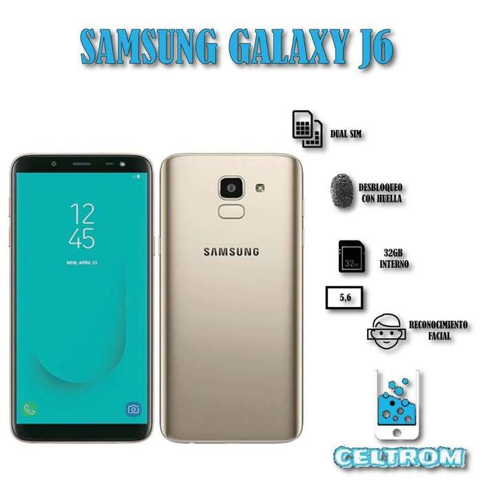 Samsung J6 Solo Redes