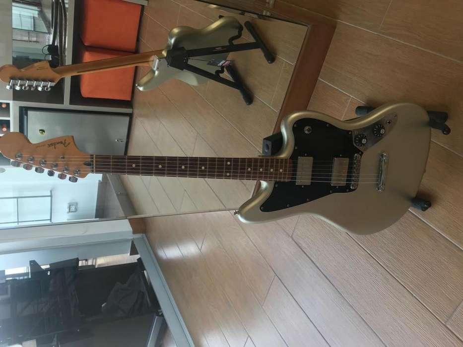 Guitarra Fender Jaguar Blacktop series Mexico