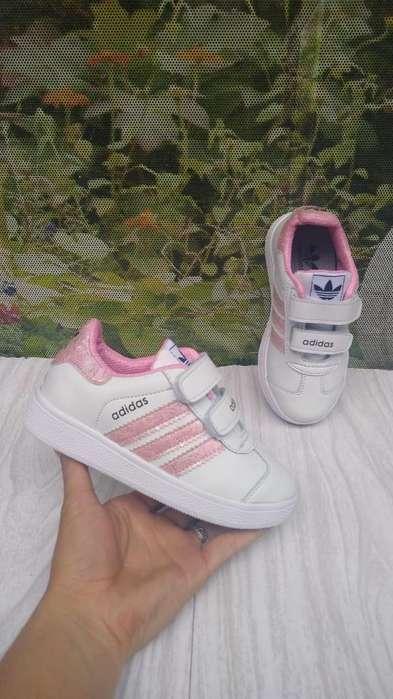 Zapatillas tenis niñas adidas tallas del 21 al 33