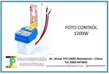 FOTO CONTROL 1200W SICA