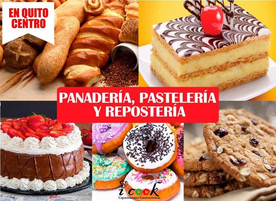 CURSO DE PANADERÍA, PASTELERÍA Y REPOSTERÍA EN QUITO CENTRO CURSO DE PANADERO