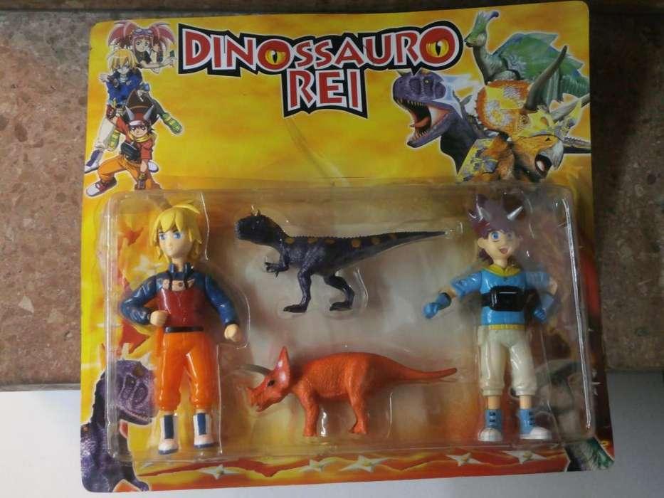 Muñecos de DINOSSAURO REI BLISTER CERRADO