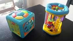 Juegos para Nene Cubo Y Sonajero Gigante