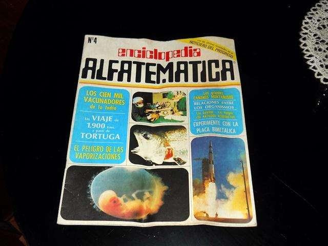 Revista Fasciculo Enciclopedia Alfatematica Numero 4