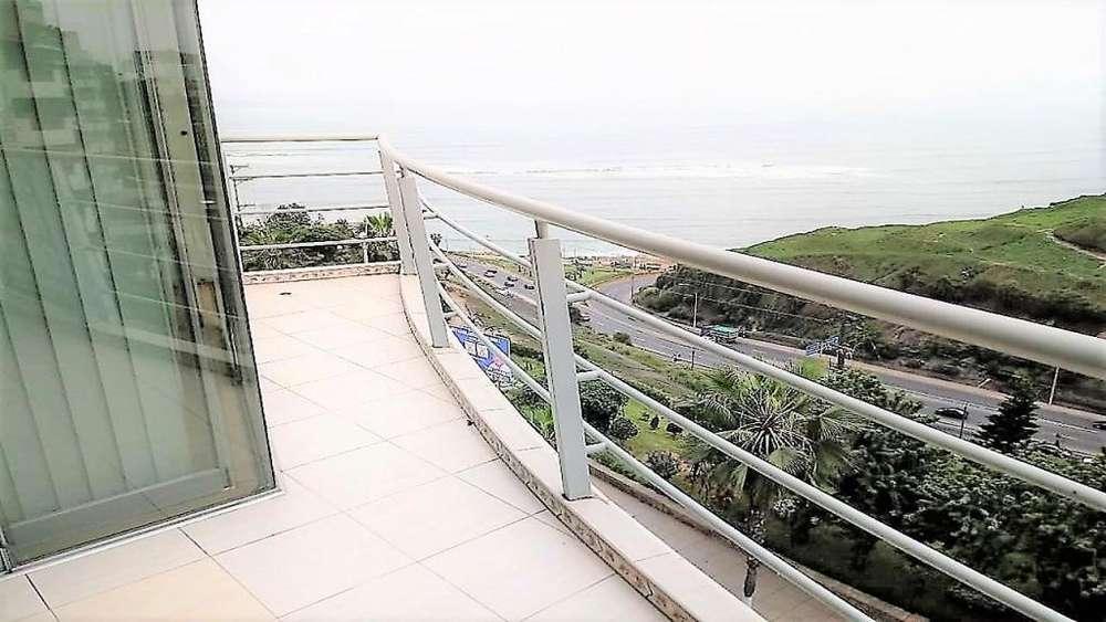 Alquilo departamento con vista al mar en el Malecón de Barranco