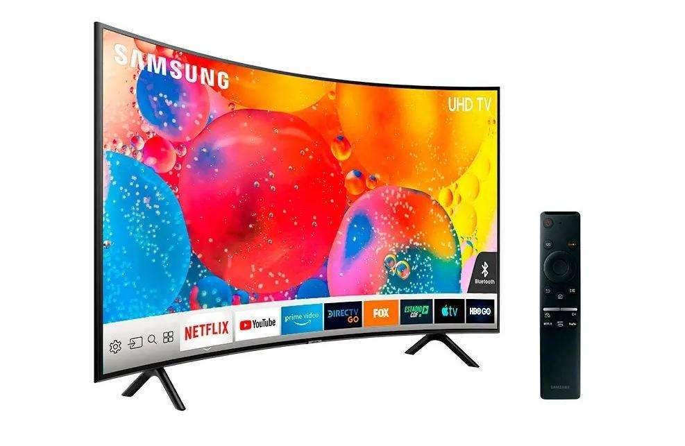 SAMSUNG CURVED 55 UHD 4K SMART TV