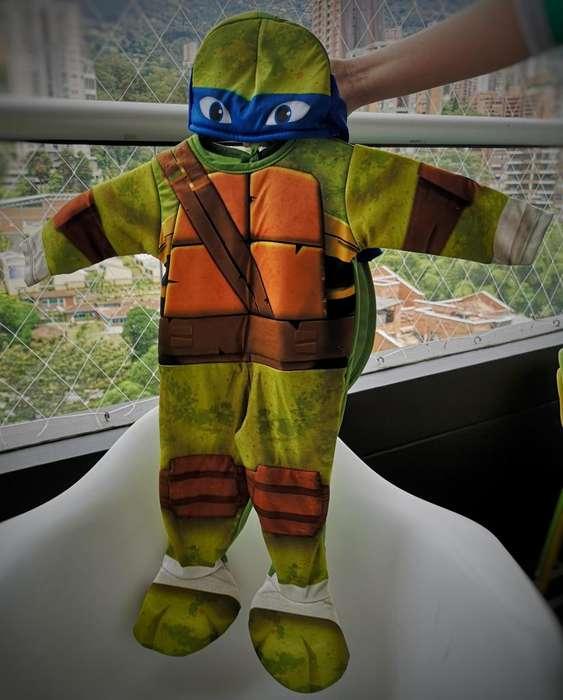 Disfraz Tortuja Ninja (1año) - Barato