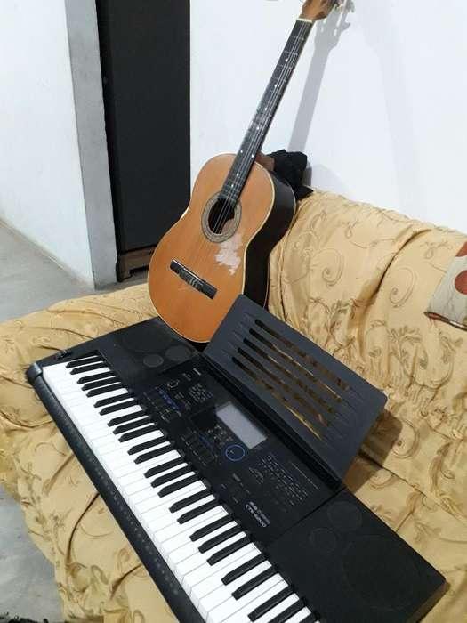 Remato Teclado Musical Y Guitarra