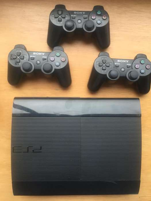 Ps3 3Controles 3 Jueg.Originales