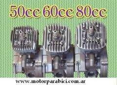 Motor Y Kit 48cc 65cc Cc Nuevo Bicimoto