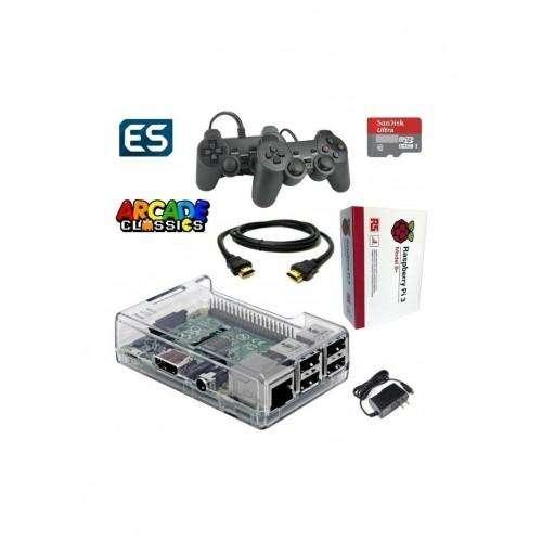 Consola Juegos Retro Raspberry Sd 16 gb 1 Joystick Recalbox - OverGame - TUCUMAN