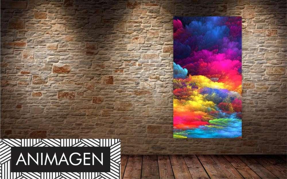 Cuadro abstracto decorativo 2193