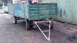 Trailer Bodcat .mulas O Tractor 5000 Kg