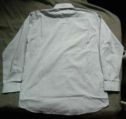 Camisa de vestir Christian Dior Talle 42 Large, celeste gris