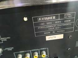 Amplificador Fisher Original