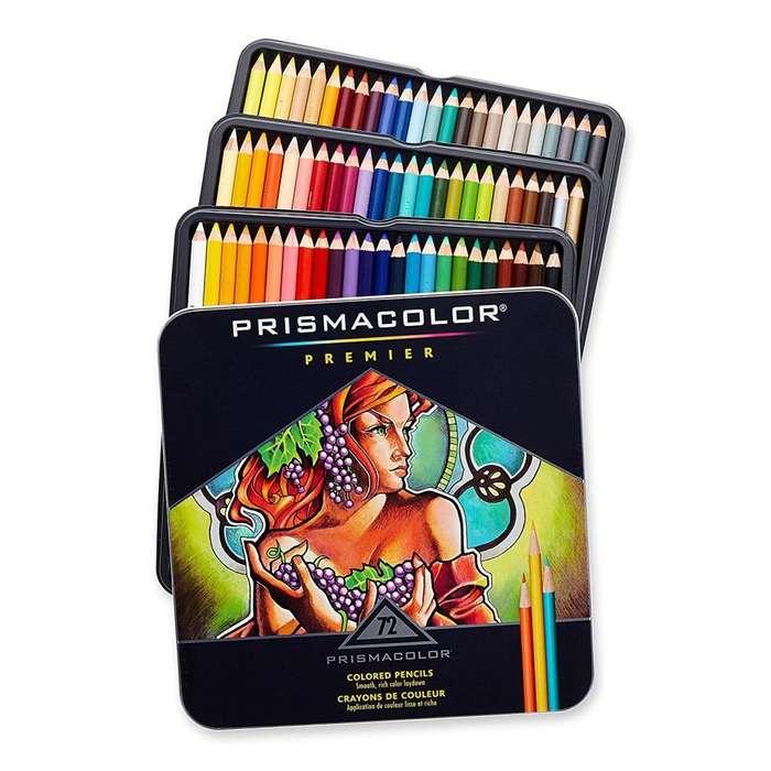 Prismacolor Premier Lapices Colores Premium 72 Pack para Artistas entusiastas profesionales noLayconsa faber castell