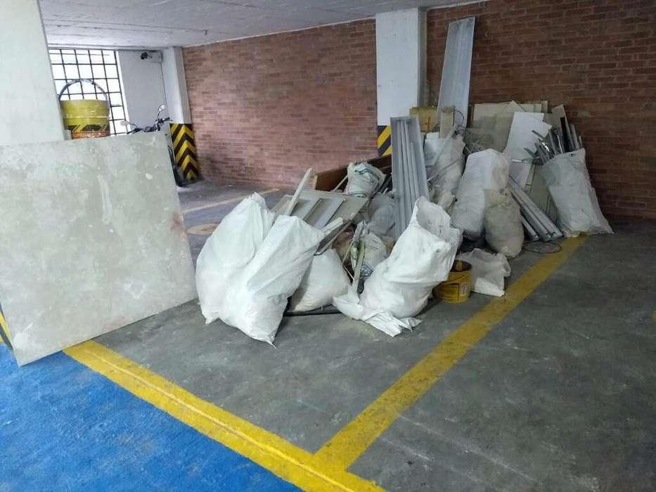Recolecion de Escombros Y Maderas