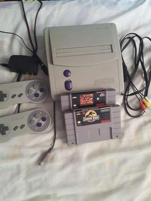Super Nintendo Completo Funcional