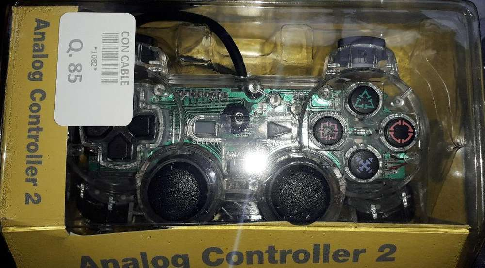 Controles Ps2 Alambricos E Inalambricos