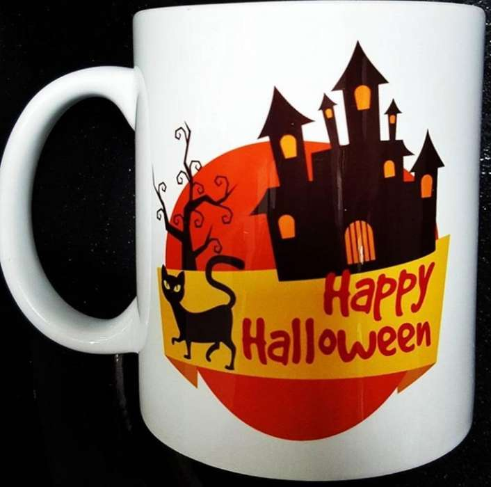 Pocillos Halloween