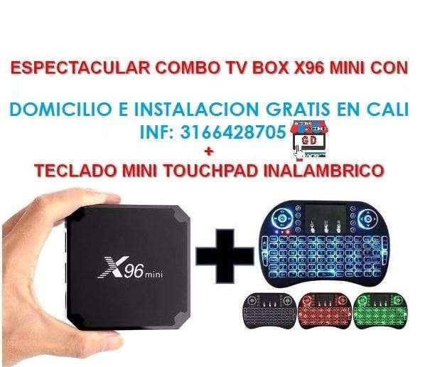 TV BOX con TECLADO DOMICILIO e INSTALACIÓN GRATIS en Cali 3166428705