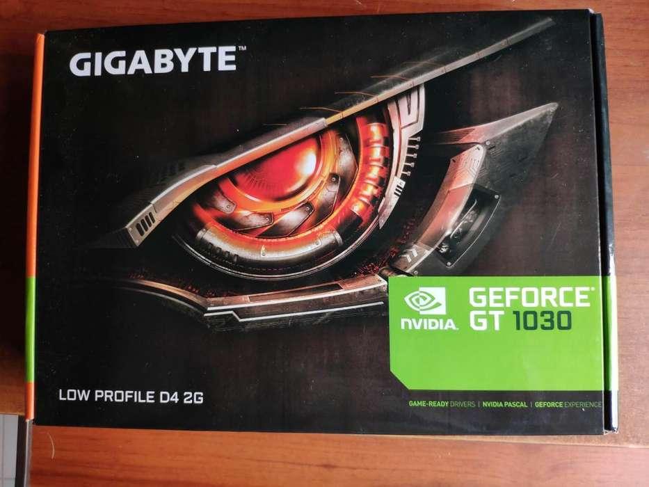 Tarjeta gráfica Gigabyte Nvidia Geforce GT 1030 2 GB DDR4