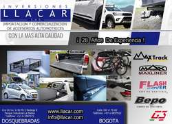 Barra Antivolco Deportiva Cromada Toyota