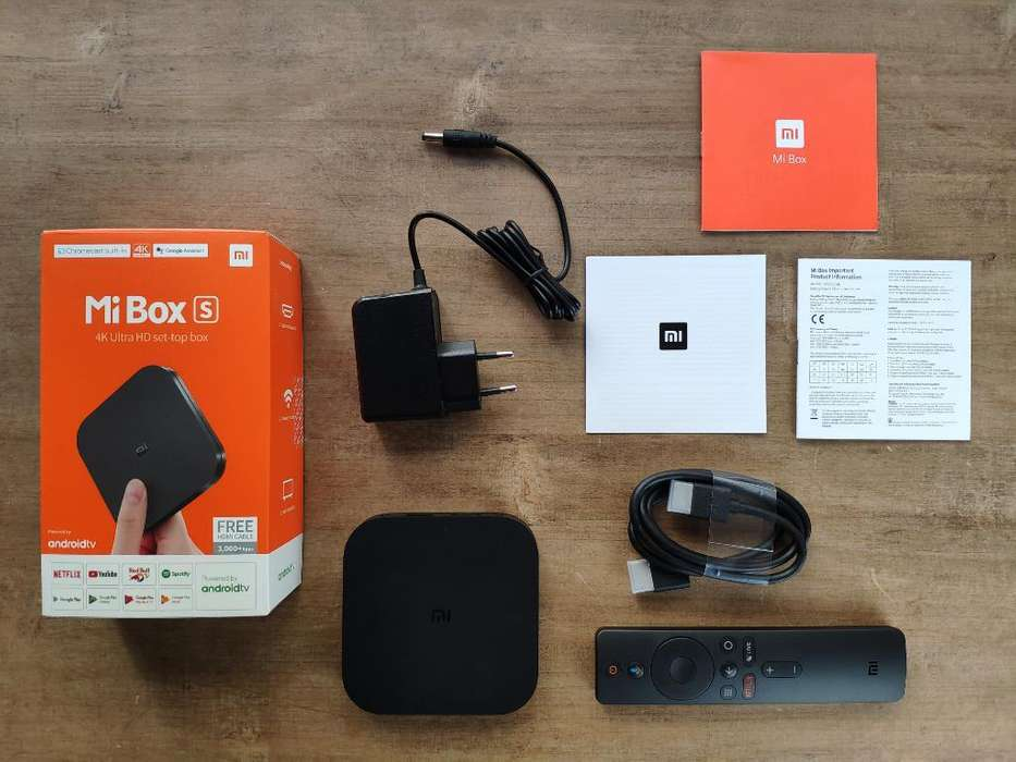 Xiaomi Mi Box S, Android Tv 8.1 2gb 8gb