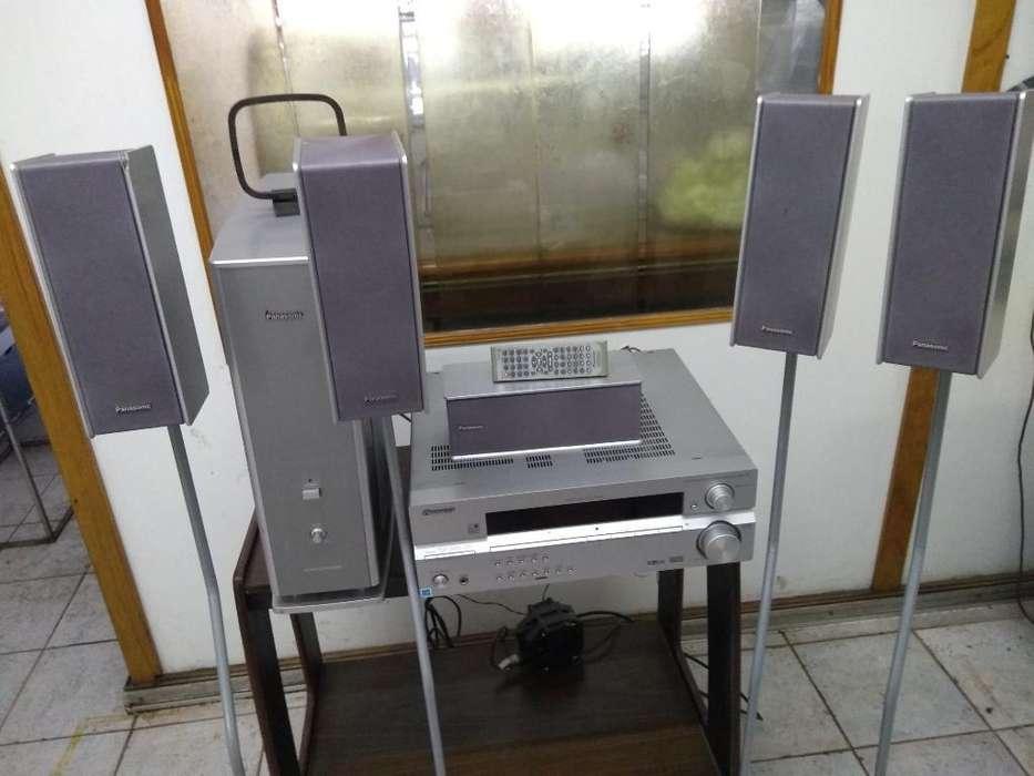 Amplificador. Radio. Hone Theater 5.1