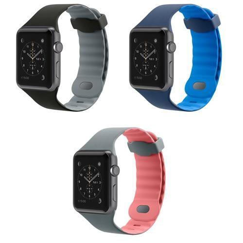 Correa Apple Watch 2 3 4  Silicón Sport Belkin 38 40 42 44mm