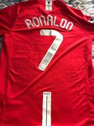 Camiseta Manchester United Talle L 2008