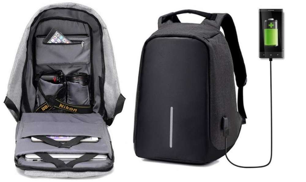 Mochila Antirrobo Impermeable Laptop Usb Gruponatic San Miguel Surquillo Independencia La Molina Whatsapp 941439370
