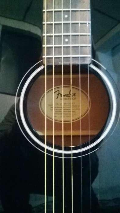 Guitarra Electroacústica. Fender CD- 60-BK- DS- V2 Perfecto estado. Indonesia.